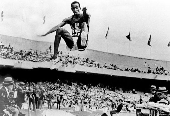 Achieving goals - Bob Beamon smashes the world long jump record