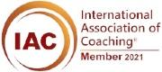 Life Coach Auckland badge - International Association Coaching Member 2021